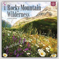 Kalendarz Góry Rocky Mountain Wilderness 2017 Square Wall Calendar Mountains