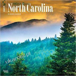 Kalendarz Wild & Scenic North Carolina 2017 Square Wall Calendar Północna Karolina Projektowanie i planowanie ogrodu