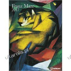 Duży kalendarz 2017 Franz Marc Poster Calendar Pozostałe albumy i poradniki