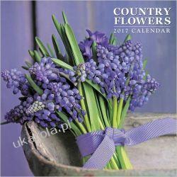 Kalendarz Country Flowers 2017 Calendar