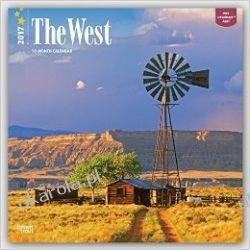 West, the 2017 Calendar USA Stany Zjednoczone Ameryka Kalendarze ścienne