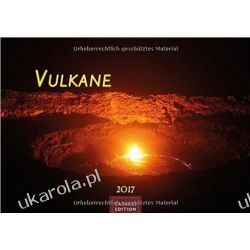 Kalendarz Wulkany Vulkane 2017 Volcanoes Calendar Książki i Komiksy