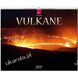 Kalendarz Wulkany Volcanoes Vulkane 2017 Calendar Książki i Komiksy