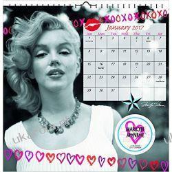 Kalendarz Marilyn Monroe 2017 Calendar Książki i Komiksy