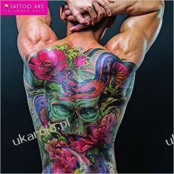 Kanedarz Tattoo Art wall calendar 2017 Tatuaże Książki i Komiksy