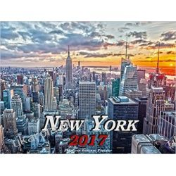 Kalendarz Nowy Jork New York 2017 Calendar Książki i Komiksy