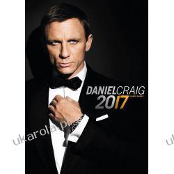 Kalendarz Daniel Craig 2017 Calendar  Książki i Komiksy