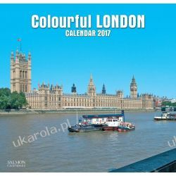 Kalendarz Colourful London Calendar 2017 Książki i Komiksy