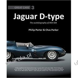 Jaguar D-Type: The Autobiography of XKD-504 Książki i Komiksy