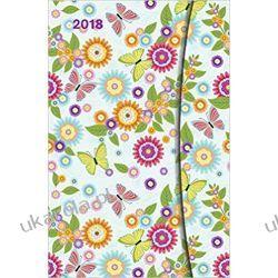 Kalendarz książkowy 2018 Flower Fantasy Magneto diary calendar Kwiaty