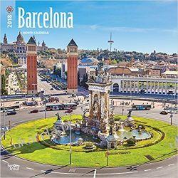 Kalendarz Barcelona 2018 Wall Calendar Pozostałe