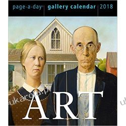 Kalendarz biurkowy dzienny Sztuka Art Gallery Calendar 2018 Pozostałe