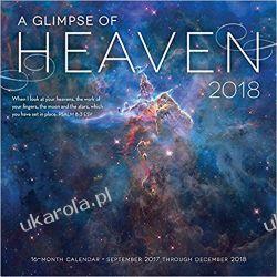 Kalendarz A Glimpse of Heaven 2018 Calendar