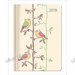 Kalendarz książkowy Style Twitter 2018 Diary Ptaki Książki i Komiksy