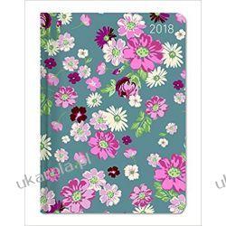 Kalendarz książkowy Ladytimer Flower Love 2018 Kwiaty Diary Książki i Komiksy