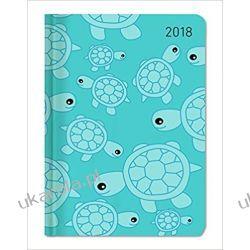 Kalendarz książkowy Ladytimer Turtles 2018 Żółwie Książki i Komiksy
