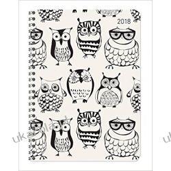 Kalendarz książkowy Ladytimer Sowy 2018 Owls Diary Książki i Komiksy