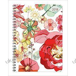 Kalendarz książkowy Kwiaty Ladytimer Blossoms 2018 Diary Książki i Komiksy