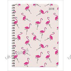 Kalendarz książkowy Flamingi Ladytimer Flamingos 2018 Diary Książki i Komiksy