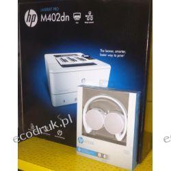 drukarka HP Laserjet pro m402 dn nowa + słuchawki H7000