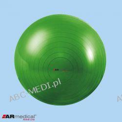 Piłka rehabilitacyjna ABS - 75 cm ARMEDICAL - SREBRNA Pozostałe