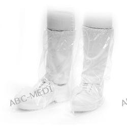 OCHRANIACZE JEDNORAZOWE NA OBUWIE Z GUMKĄ, DŁUGIE - MED COMFORT PE Boot Covers Piżamy