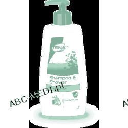 TENA Shampoo & Shower - Łagodny żel pod prysznic i odżywczy szampon do włosów w jednym