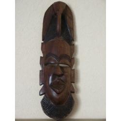 maska afrykanska drewniana