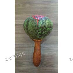 Instrument Marakas Grzechotka kokos  Muzyka i Instrumenty