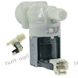 Elektrozawór 1-drożny /180o / z wtyczką zmywarki Whirlpool