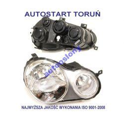 LAMPA REFLEKTOR PRZOD VW POLO 9N 01-05 PRAWY  NOWY