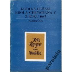 KODEKS DUNSKI CHRYSTIANA  Historia Prawa Dunskiego