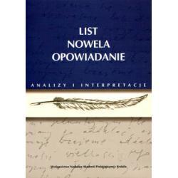 NOWELA Orzeszkowa Prus Mrozek Słowacki Kraszewski