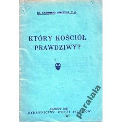 KOSCIÓŁ KATOLICKI a Inne JEZUICI 1930 r Kraków Polonistyka
