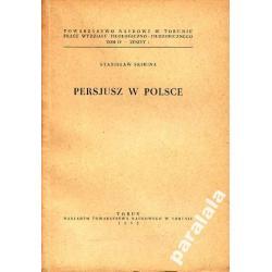 PERSJUSZ Recepcja Persjusza w Polsce LACINA 1952 r