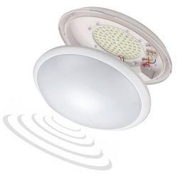 Orno Oprawa LED 16W 100 LED lampa plafon plafoniera z czujnikiem ruchu mikrofalowym BREVA OR-PL-316WLPMM4