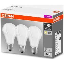 Osram Żarówka LED BASE CLASSIC A75 10,5W (75W) 1055lm E27 2700K (3szt) Dom i Ogród