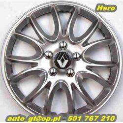 Kołpaki HERO 15' emblematy GRATIS AUDI - RENO - VW