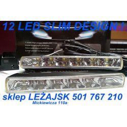 Światła LAMPY DZIENNE RL 12 x 1 WAT philips design