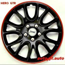 Kołpaki HERO GTR 16 emblematy GRATIS ! OPEL TOYOTA