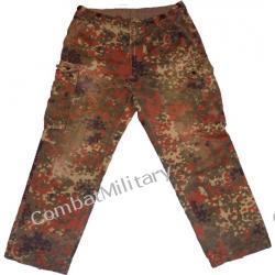 spodnie bundeswera - kamuflaż flektarn