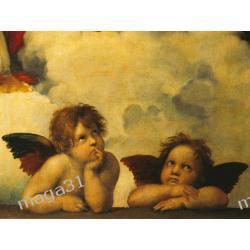 RAVENSBURGER PUZZLE 1000 el RAPHAEL ANGELS 15544 Kotki