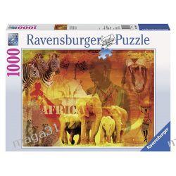 RAVENSBURGER PUZZLE 1000 WRAŻENIA Z AFRYKI 19366 Puzzle