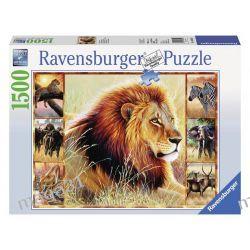 RAVENSBURGER PUZZLE 1500 AFRYKAŃSKA PRZYGODA 16320 Puzzle