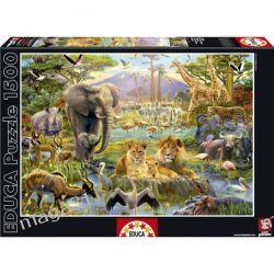 EDUCA PUZZLE 1500 AFRYKA ZWIERZĘTA 16303 Puzzle