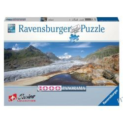 RAVENSBURGER PUZZLE 1000 PANORAMA LODOWIEC ALETSCH 19102 Puzzle