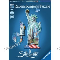 RAVENSBURGER PUZZLE 1000 KONTUR STATUA WOLNOŚCI 16151 Puzzle