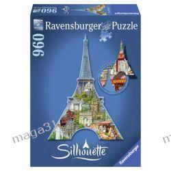 RAVENSBURGER PUZZLE 960 KONTUR WIEŻA EIFFLA 16152 Puzzle