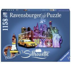 RAVENSBURGER PUZZLE 1158 KONTUR NEW YORK 16153