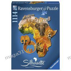 RAVENSBURGER PUZZLE 1114 KONTUR AFRYKA 16157 Puzzle